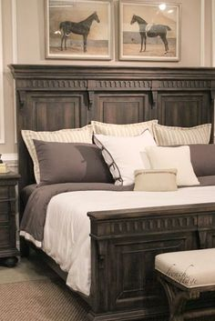 High Point Market Accentrics Home High Point Market Accentrics Home Pulaski Accentrics Furniture French Country Cottage High Point Market Accentrics Home French Country Bedrooms, French Country Cottage, French Country Decorating, Bedroom Country, Cottage Decorating, Vintage Country, Country Chic, Cottage Style, Country Living
