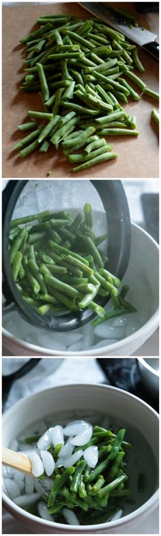 How to Blanch Fresh Vegetables for Canning and Eating! - www.countrycleaver.com Lock in those fresh flavors, crispness and color of your fresh vegetables this summer
