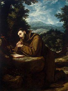 San Francesco, Cigoli, 1600.