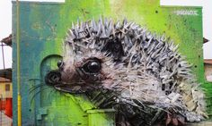 His newest additions to the series highlight animals both small and large, from tiny rodents to foxes.