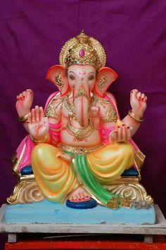 Gajraj Jai Ganesh, Ganesh Idol, Shree Ganesh, Lord Ganesha, Lord Shiva, Shri Ganesh Images, Eco Friendly Ganesha, Ganpati Picture, Dancing Ganesha