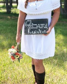Excited to share this item from my #etsy shop: Wedding Memorial Sign- Wood Wedding Sign - This Light Burns in Honor - Wedding Reception Sign - Rustic Wedding  Sign - Watching From Heaven #weddings #wedding #watchingfromheaven #rustic #inhonorofthose