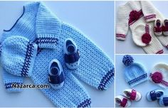 DANTELLİ PEMBİŞ BEBE ÇORAP ÖRME VİDEOLU | Nazarca.com Crochet Dinosaur Patterns, Baby Knitting Patterns, Crochet Hats, Accessories, Fashion, Crochet Stitches, Crocheting Patterns, Crochet Monkey, Knitting Needles