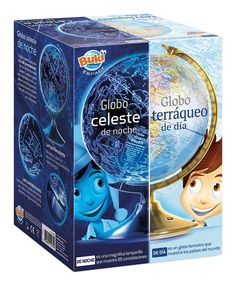 Brainstorm Toys Light Up 2 in 1 Globe Earth & Constellations, Multi-Colour Constellations, Night Light, Light Up, Noisy Le Grand, Purple Ladybugs, Kids Christmas, Bookends, Kids Room, Design Inspiration