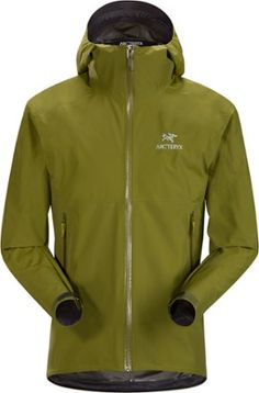 8b90fc4d3a The windproof, waterproof and breathable men's Arc'teryx Zeta SL jacket  keeps you dry