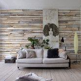 Found it at Wayfair - Komar White Washed Wall Mural
