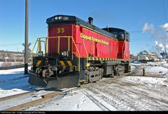 RailPictures.Net Photo: 35 Cloquet Terminal Railroad EMD SW1000 at Cloquet, Minnesota by Dan Mackey
