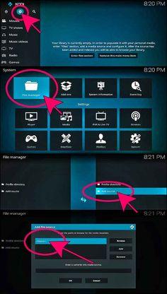 Voici les étapes à suivre pour l'installer sur votre Kodi  Étapes d'installation de Vstream Kodi