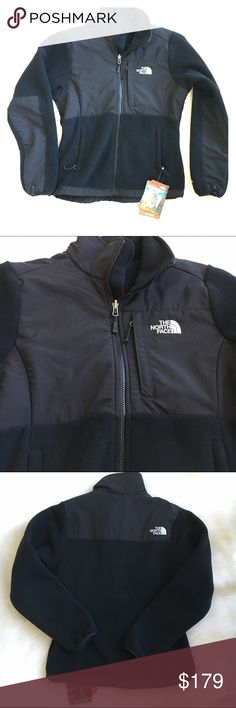 NORTH FACE Denali  jacket Black outdoor jacket made of fleece and nylon by North Face. New! Authentic North Face. Notth Face Jackets & Coats Utility Jackets
