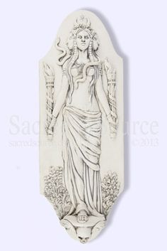 Hekate (Hecate) Plaque by Jeff Cullen