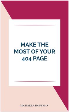 Check out this digital strategy for women entrepreneurs! How can your 404 page help you grow your business email list? Check here for 3 quick 404 page tips! Business Emails, Start Up Business, Business Branding, Business Tips, Business Sales, Business Planner, Business Entrepreneur, Creative Business, 404 Page