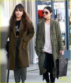 Vanessa Hudgens Spends The Afternoon Shopping with Younger Sister Stella