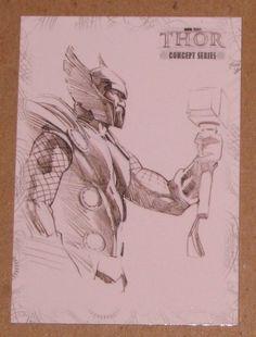 Thor Movie (UDC 2011) Concept Series Card C1 EX