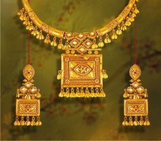 Browse through the world of Utsava by Tanishq! Explore beautifully crafted Utsava Jewellery designs online for women. Gold Ring Designs, Gold Earrings Designs, Gold Jewellery Design, Necklace Designs, Gold Jewelry, Tanishq Jewellery, Temple Jewellery, Indian Jewelry Sets, India Jewelry