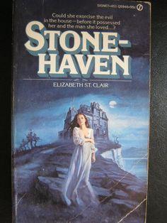 VINTAGE 1974 GOTHIC ROMANCE MYSTERY ELIZABETH ST CLAIR STONEHAVEN