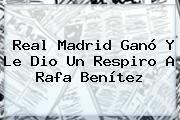 http://tecnoautos.com/wp-content/uploads/imagenes/tendencias/thumbs/real-madrid-gano-y-le-dio-un-respiro-a-rafa-benitez.jpg Real Madrid. Real Madrid ganó y le dio un respiro a Rafa Benítez, Enlaces, Imágenes, Videos y Tweets - http://tecnoautos.com/actualidad/real-madrid-real-madrid-gano-y-le-dio-un-respiro-a-rafa-benitez/