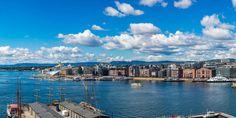 Oslo, Norwegen / Shutterstock.com Oslo, Travel Pictures, Travel Photos, Stockholm, Travel Bugs, World Traveler, Event Design, San Francisco Skyline, New York Skyline