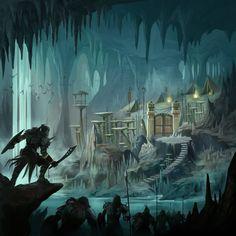 Giant Cave Spider Dwarf Fortress The Underdark d...
