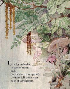 """""""U is for Umbrella"""" - Fanny Y. Cory by docarelle, via Flickr"""