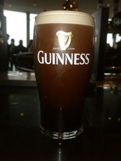 Guinness Storehouse! 20 dollar beer, but it's a guinness.