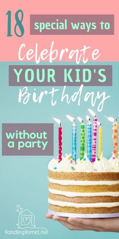 Birthday ideas for kids without a big party. Make birthdays special with these 18 birthday ideas. Printable Birthday Banner, Diy Birthday Banner, Birthday Plate, Birthday Cookies, Birthday Balloons, Special Birthday, Birthday Fun, Birthday Party Themes, Birthday Ideas