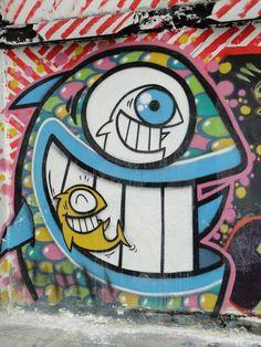 Graffiti in Bogota, Colombia