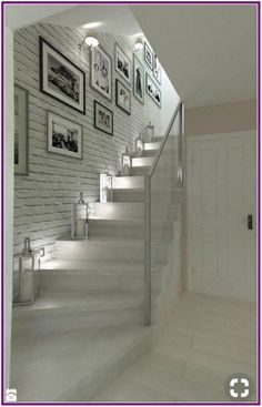 hallway decorating 140807925838251611 - Trendy basement stairs lighting ideas Ideas Source by apaudreyprice House Design, Hallway Decorating, Staircase Decor, Home, House Interior, Home Deco, Home Interior Design, Stairs Design, Stairs