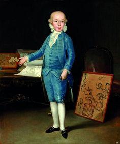Portrait of Luis Maria de Borbón y Vallabriga, 1783  Reinette: Francisco de Goya y Lucientes