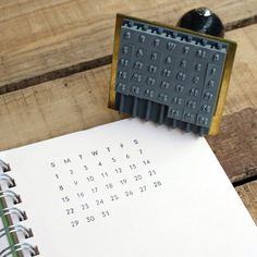 Rakuten: Water stripe stamp many years calendar- Shopping Japanese products from Japan