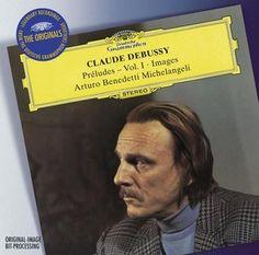 DEBUSSY Préludes - Benedetti Michelangeli - Deutsche Grammophon