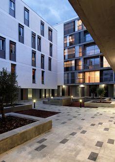 SSA - Solinas Serra Architects -, Gabriel Verd Gallego — 46 viviendas de promoción pública.Mairena del Aljarafe