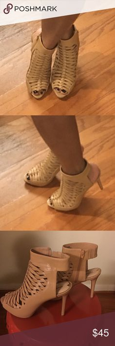 570edff2bcc9 Shop Women s Gini Bini (dillards) Tan size Sandals at a discounted price at  Poshmark.