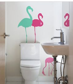 want it! Not in a bathroom though.. lol actually, I don't know where I'd put it but I want it!