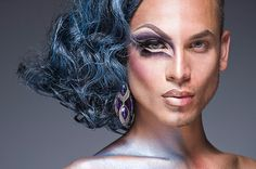 Leland Bobbé: Half Drag Portraits