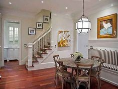 Photo of Bestselling Author Emily Giffin Lists Her Lovely Atlanta Home on the Market Stairway Photos, Stairway Walls, Basement Stairway, Basement Walls, Stair Photo Walls, Emily Giffin, Stairs In Kitchen, Atlanta Homes, Southern Homes