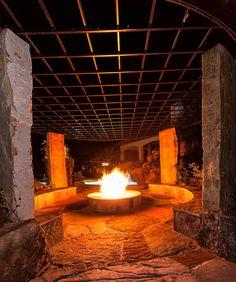 Dave's backyard fire pit