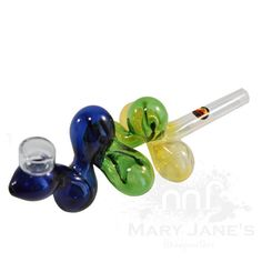 Tri-Colour Thick Molecule By Red Eye Glass Pipes And Bongs, Hand Pipes, Glass Pipes, Red Eyes, Cannabis, Bubbles, Collections, Colour, Pretty
