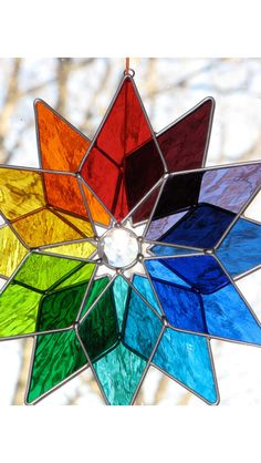 Stained glass- I love a color wheel