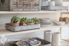Did you spot the metal tray in my post yesterday? It's actually a set of three and it's my Designer Pick for Antique Farmhouse today! I like pieces that are versatile and corral little items that might otherwise look like clutter and these metal trays are perfect for that. I used these to style the shoe cart in my studio, ... Read More