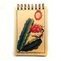 Cactus Botanical Notepad