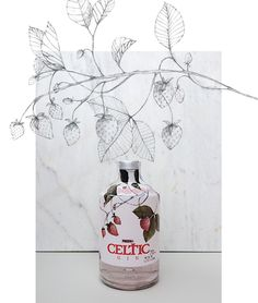 Label Design | Celtic Gin on Behance