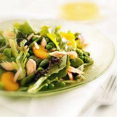 """Viiden tähden salaatti - """"Tässä maukkaan, täyttävän ja ravinteikkaan salaatin ABC.""""  (leeniviio)"""