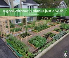 Photo: Planning for a More Productive Garden...  https://www.growveg.com/guides/planning-for-a-more-productive-garden/  Photo Seedmoney.org