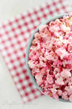 Craftberry Bush: Cotton Candy Popcorn!