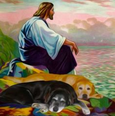 Thank you God and Jesus for our pets especially dogs they bring us so much love and companionship