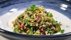 Cypriot Grain Salad with pomegranate