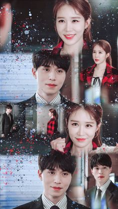 Touch your heart 💕💝💘💞💗 Korean Drama Quotes, Korean Drama Movies, Korean Actors, Korean Dramas, Lee Dong Wook, Movie Couples, Cute Couples, Kdrama, Lets Fight Ghost