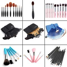 Woman's 10 / 20 / 32pcs Makeup Brush Sets Professional Cosmetics Brushes Eyebrow Powder Foundation Creams Maquiagem Make Up Tool #clothing,#shoes,#jewelry,#women,#men,#hats,#watches,#belts,#fashion,#style
