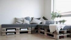 DIY Paletten Sofa