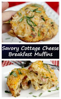 We tend to run late in the mornings, so meal prep and cooking ahead works well for us. One of our favorite grab and go breakfasts are my Savory Cottage Cheese Breakfast Muffins.